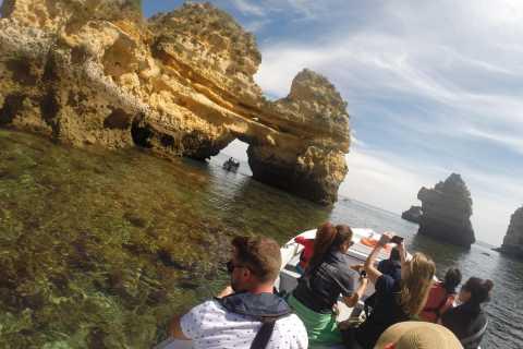 Lagos: 1-Hour 15-Minute Boat Cruise to Ponta da Piedade