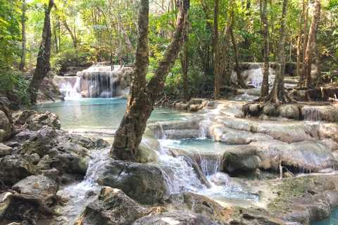 Desde Bangkok: cascadas de Erawan y lugares de Kanchanaburi