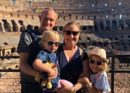 Kolosseum und Altes Rom: Familientour für Kinder