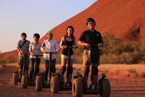 Quarter Uluru, Segway and Sunset