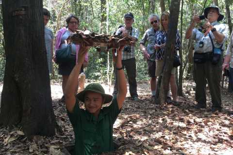 Cu Chi: Tunnel Tour and Local Family Visit