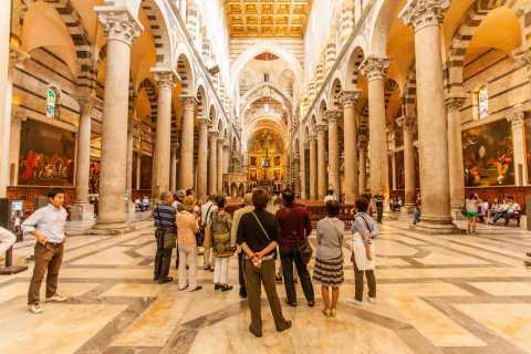 Pisa: Tour guiado por baptisterio, catedral y torre