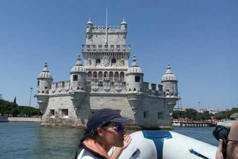 Lisbon: 1-Hour Sightseeing Tour in a Motor Boat