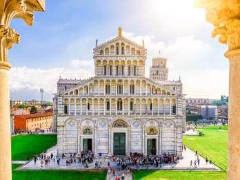 Pisa: Kathedrale Führung, Weinverkostung Schiefer Turm