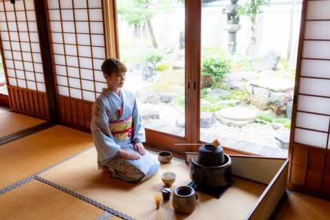 Kioto: ceremonia del té Ju-An en el templo Jotoku-ji