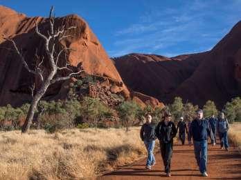 Uluru: Kleingruppen-Wanderung ab der Uluru-Basis