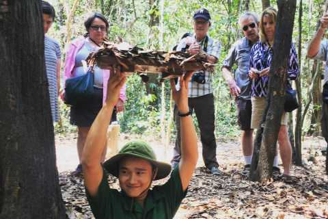 Hiep Phuoc Port: Cu Chi Tunnels and War Remnants Museum Tour