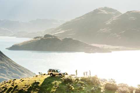 Wanaka: Mount Burke 4x4 Explorer and Boat Tour