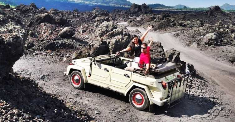 Mount Batur: Private Volkswagen Jeep Volcano Safari