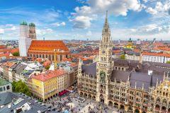 Munique: Excursão a Pé em Alemão no Centro e Viktualienmarkt