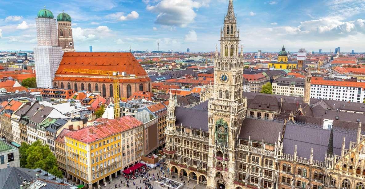 München: wandeltocht oude stad & Viktualienmarkt in Duits