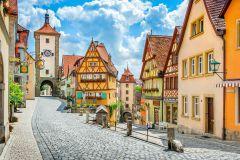 Estrada Romântica e Rothenburg saindo de Munique