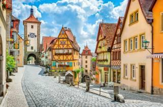 Ab München: Romantische Straße und Rothenburg