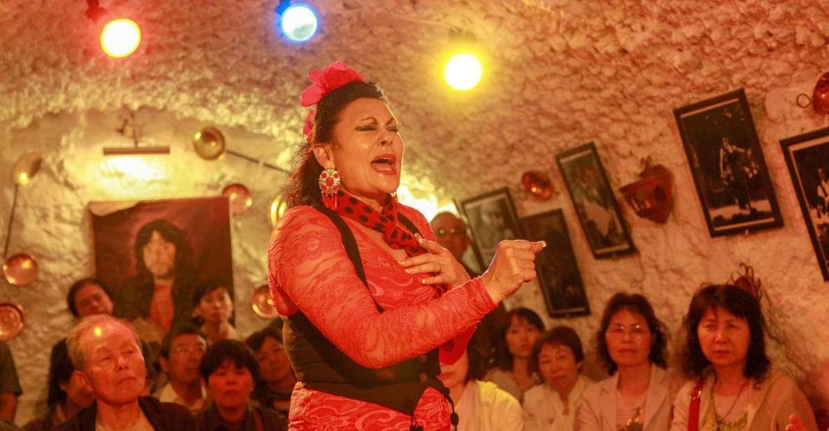 Sacromonte: biljett till flamencoshow på Cuevas Los Tarantos