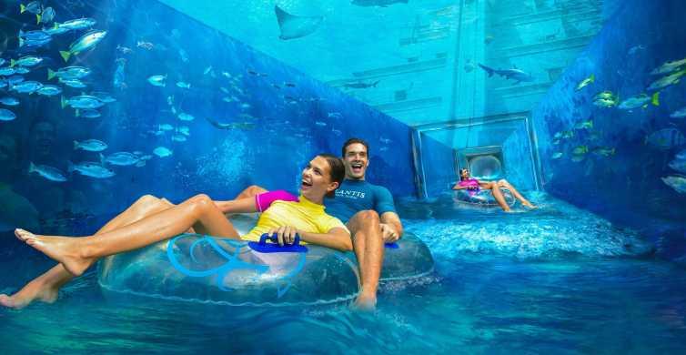 Dubai: Entrébillet til Atlantis Aquaventure og Lost Chambers