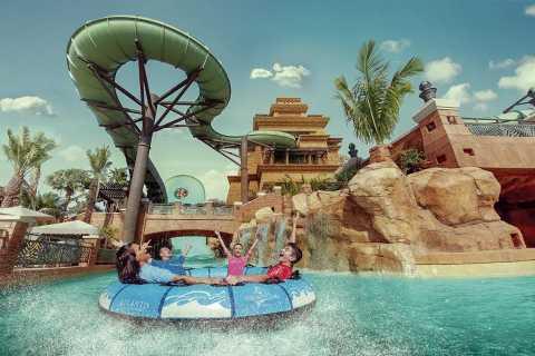 Dubái: Atlantis Aquaventure y Acuario Lost Chambers