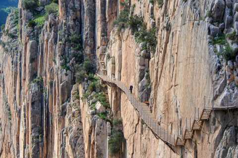 From Costa del Sol or Malaga: Caminito del Rey with Tapas