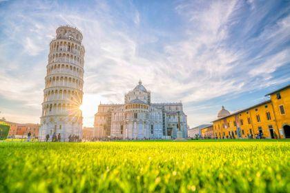 Pisa, Siena, San ...