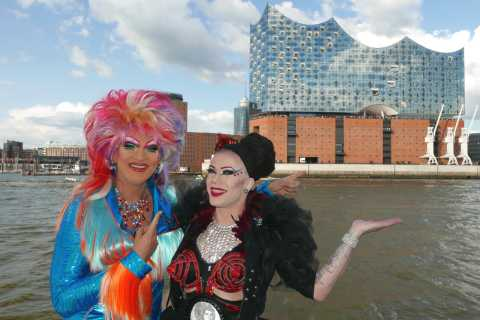 Hamburg: Party Harbor Tour with Olivia Jones