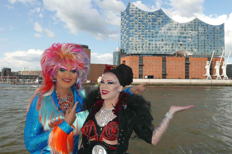 Hamburg: Party-Hafenrundfahrt mit Olivia Jones