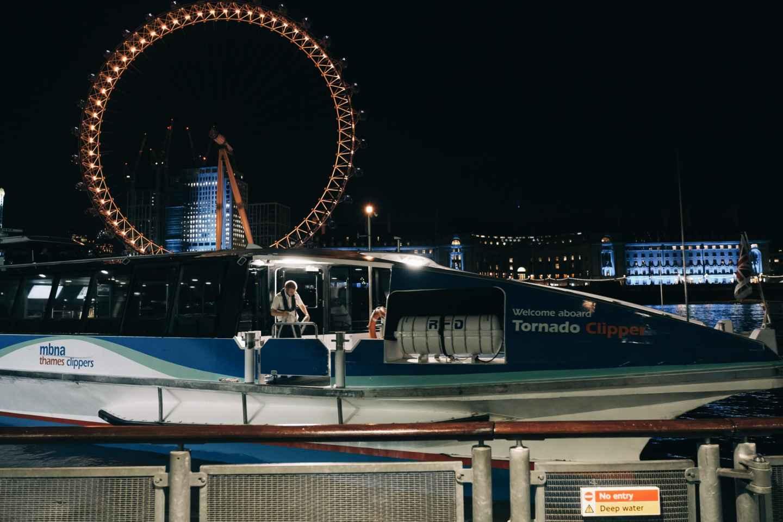London: Geistertour & Grusel-Bootsfahrt auf der Themse