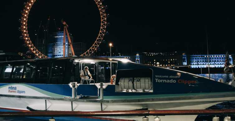 London: Ghost Walk and Spooky River Thames Boat Ride