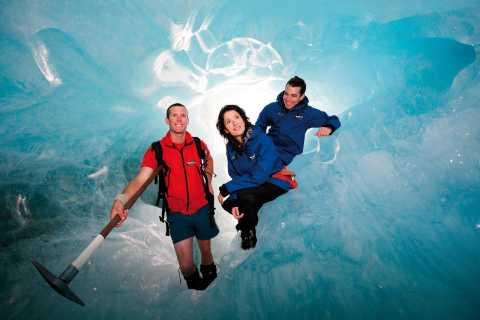 Franz Josef Glacier: 2,25-godzinna wędrówka z transferem helikopterem