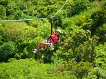 Kauai: Zipline-Abenteuer in Poipu mit 5 Seilrutschen