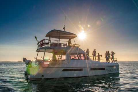 Cape Town: Sunset Champagne Cruise and 3-Course Dinner