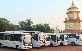 Goa: 5-Hour Coach/Taxi Guided Tour from Mormugao Harbor