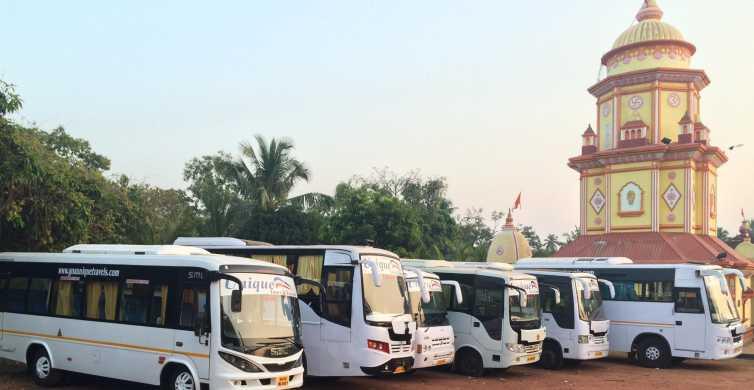 Goa: 5-Hour Coach/Taxi Guided Tour from Mormugao Harbor
