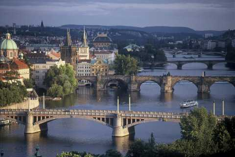 Prague: 3-hour Bus, Foot and Boat Tour