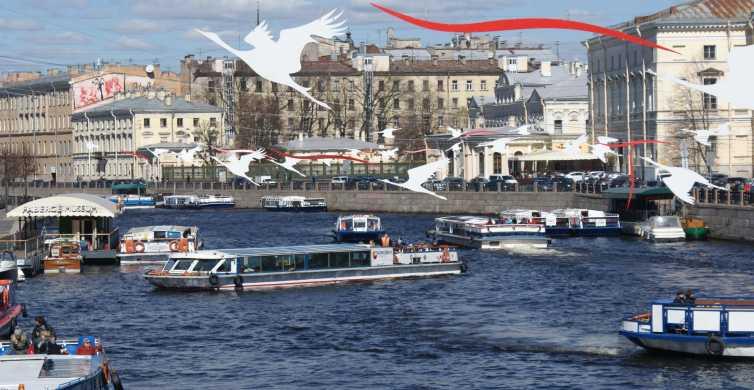 San Pietroburgo: giro in barca attraverso canali e fiume
