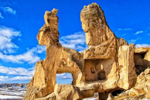 Goreme: Full-Day Open Air Museum with Underground City Tour