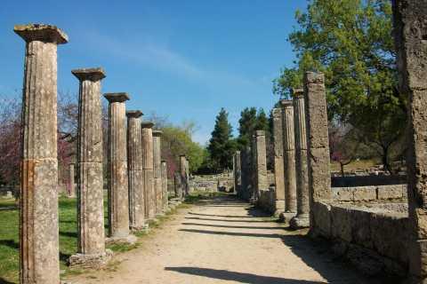 From Kyllini: Day Trip to Ancient Olympia & a Greek Farm