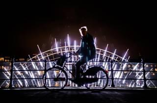 Amsterdam: Leichte Festival-Radtour