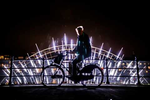 Amsterdam: Light Festival Bike Tour