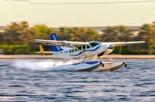 Dubai: Per Wasserflugzeug über Palm Jumeirah & Burj Khalifa