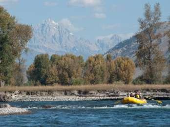 Jackson: 13-Meilen-Flussfahrt mit Teton-Aussicht