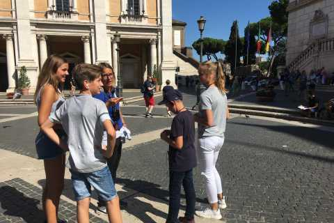 Rome for Kids: City Quiz Tour in German