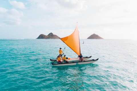 Oahu: Authentic Hawaiian Sailing Adventure to Mokuluas