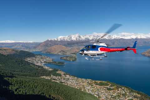 Queenstown: Pilot's Choice Helicopter Tour & Alpine Landing
