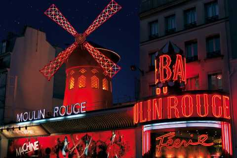 Moulin Rouge Christmastime Dinner and Show