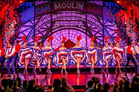 Paris: Dinner Show at the Moulin Rouge