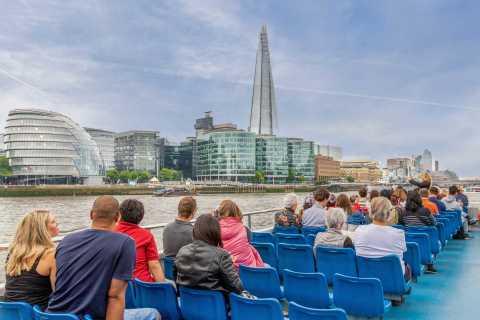 Hop on, hop off-vaart Westminster Pier naar Tower of London