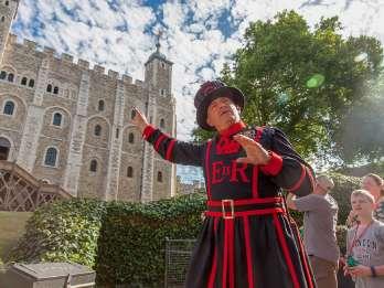 Tower of London: Kleingruppentour mit einem Beefeater