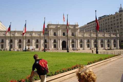 Santiago: City Sightseeing and Wine Tasting Tour