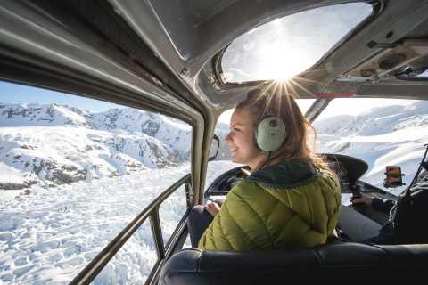 Franz Josef & Fox Glaciers Helicopter Flight & Snow Landing