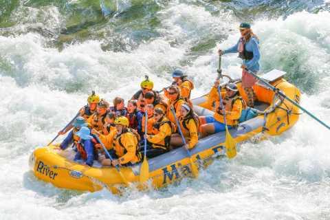 Excursão de Rafting 13 Km de Corredeiras saindo de Jackson
