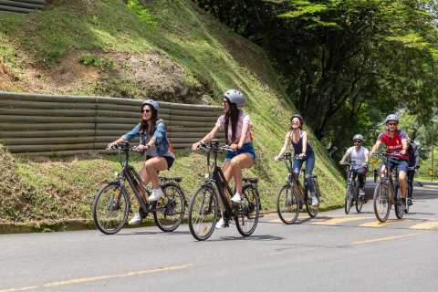 Medellín: City Tour by Electric Bike with Fruit & Coffee